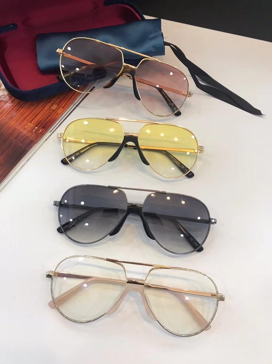 2021 جديد أعلى جودة GG0432 رجل نظارات الرجال نظارات الشمس النساء النظارات الشمسية نمط الأزياء يحمي العينين مع مربع