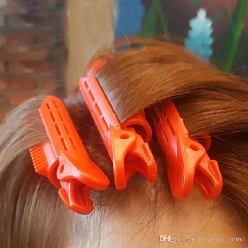Magiczne rolki do pielęgnacji włosów Włosy Korzenie Naturalne Fluffy Clip Sleeping Brak Ciepła Plastikowe Curler Twist Hair Styling DIY Narzędzie 1 PC