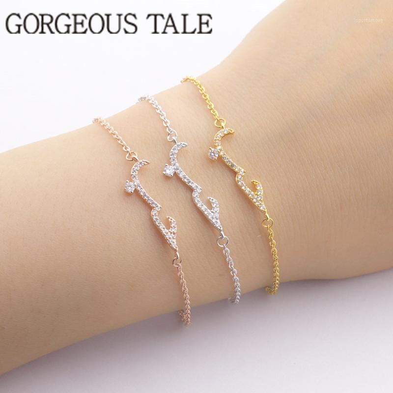 Fromage Boho Bijoux Bijoux Femme Love Charms Femmes Bracelets Gold Chaîne Bracelet Bracelet Brazalète Pulseras Mujer Bff1