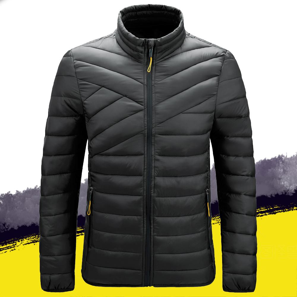 2020 Kış Erkek Giyim Parkas Erkekler Ceket Kalın Pamuk Yastıklı Kirpi Ceket Rahat Dış Giyim Coat Erkek Mont Plue Boyutu LJ201029