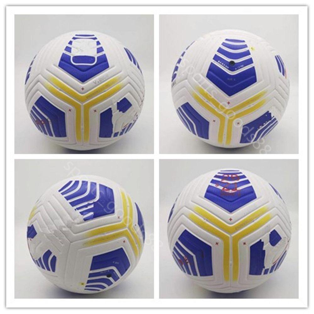 20 21 Club Serie uma liga Match Futebol Ball 2020 2021 5 Bolas Grânulos Slsize IP-Resistente Futebol Frete Grátis Bola de Alta Qualidade