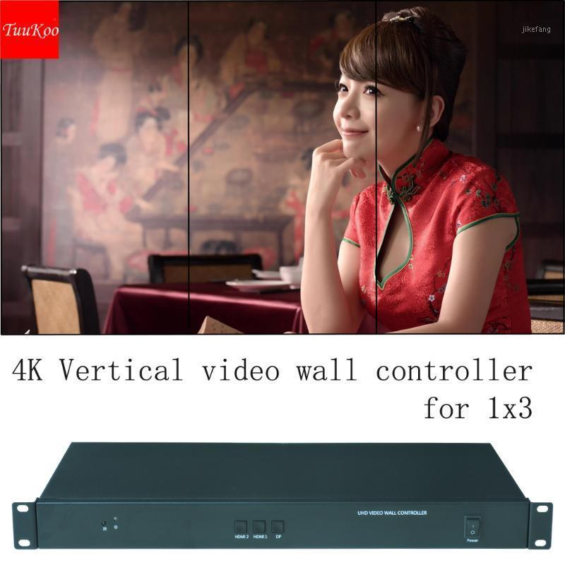 1x3 4k vertical video wall controller, vertical video wall processor for 3 units, input resolution up to 3240x1920@60HZ1