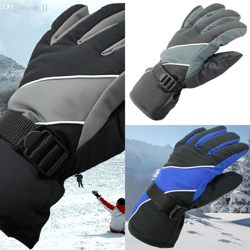 CdvSv waterproof Ski Gloves Outdoor Cycling ski glove Winter Womens Autumn and Winter Thermal and Windproof Screen Touch Waterproof ski