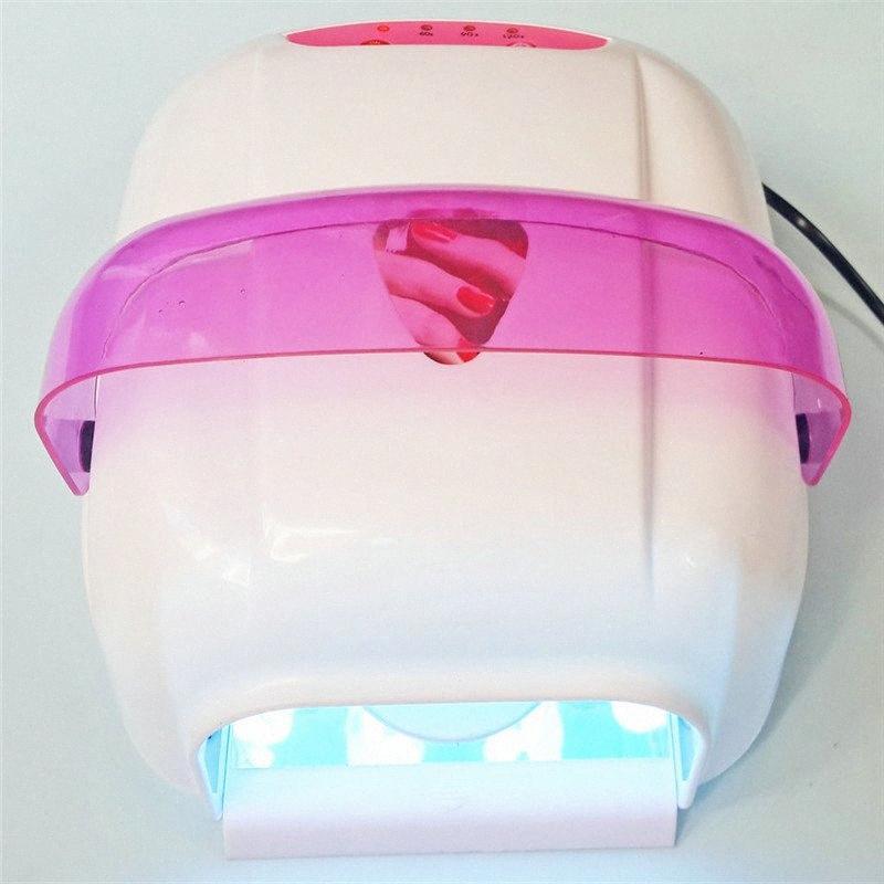 1шт Led УФ лампы 36W 110-240V леча гель Nail Art Professional Nail Art Сушилка гель Лечение UV Lampwith 4шт Луковицы tgN0 #