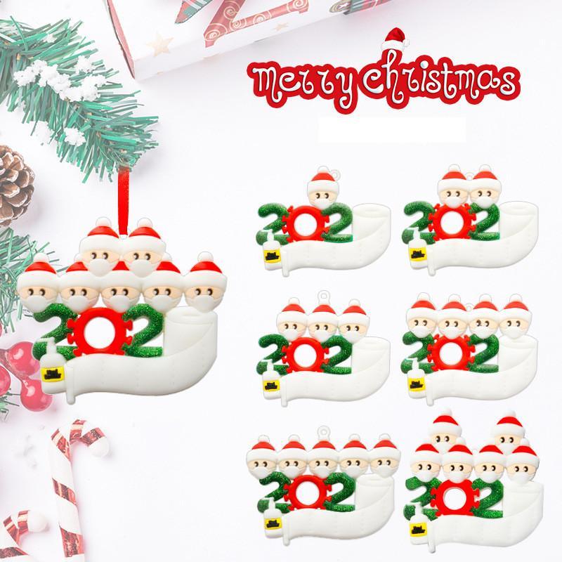 عيد ميلاد سعيد الحلي تحيات DIY الحجر الناجي التذكارية الديكور ثلج ملابس قناع شجرة عيد الميلاد قلادة هدية عيد الميلاد