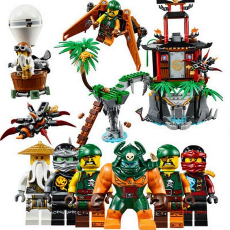 Bela 10461 ninjago tigre viúva ilha blocos de construção tijolos 70604 ninja ninjago figuras modelo brinquedos crianças presentes c1115