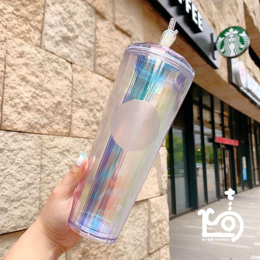 Ограниченный материал Girlfirend Cup Double с домашним животным Дети для взрослых продукты издания соломинки Starbucks Plastick для подарка для AAHPU