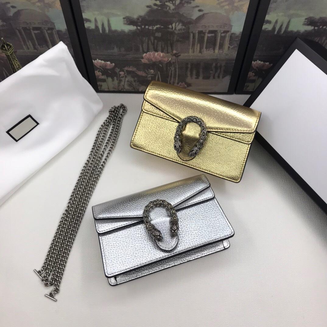 Gümüş Klasik 2021 Çanta Hakiki Tasarımcılar Deri Çanta Çanta Luxurys Bayan Mini Crossbody Çin Omuz Altın Kadınlar RDLFQ HFBCJ
