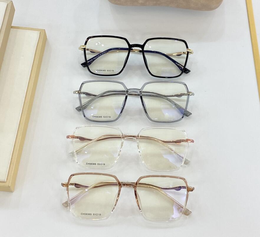 جديد 5838 النظارات الإطار المرأة نظارات الشمس النظارات إطارات النظارات إطار واضح عدسة النظارات الإطار oculos لديك حالة