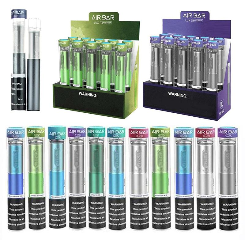 Air Bar Lux Disposable Device Built-in kits 500mAh Battery 2.7ml Pods 1000puffs Vape pen Starter vs Fume extra puff xxl E-cigarette