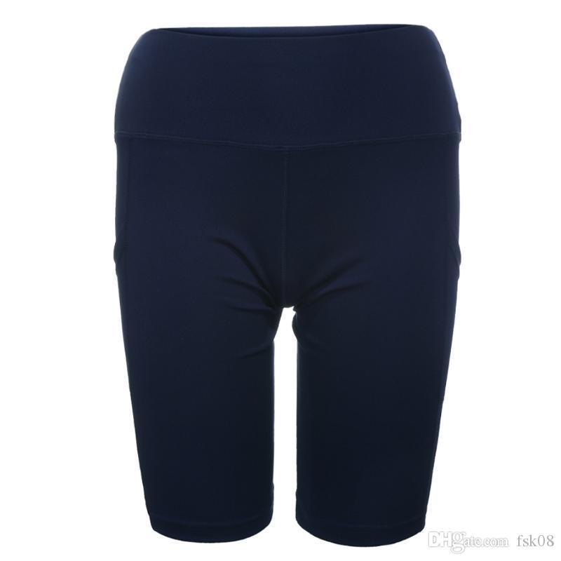 Sexy Yoga Shorts Frauen Solide Farbe Sport Tragen Fitness Kurze Hosen Weibliche Push Up Gymnastik Kleidung Elastisch Atmungsaktiv #Zer Jlfrn