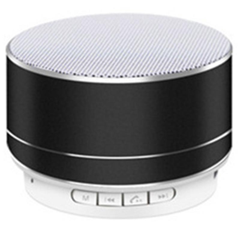 جودة عالية a10 مصغرة بلوتوث المتكلمين المحمولة مشغل الموسيقى القابلة لإعادة الشحن مع وضع FM دعم بطاقة TF سعر جيد handfrees اللاسلكية المتكلم