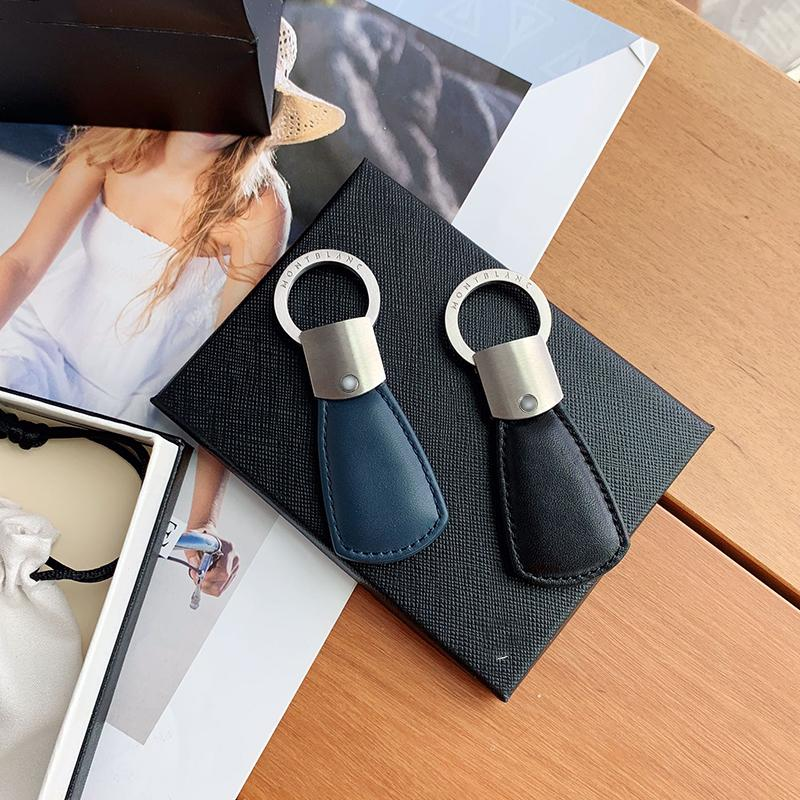 الفاخرة مصمم سيارة مفتاح سلسلة حلقة جودة عالية جلدية الصلب سلسلة المفاتيح الأعلى LH-M17