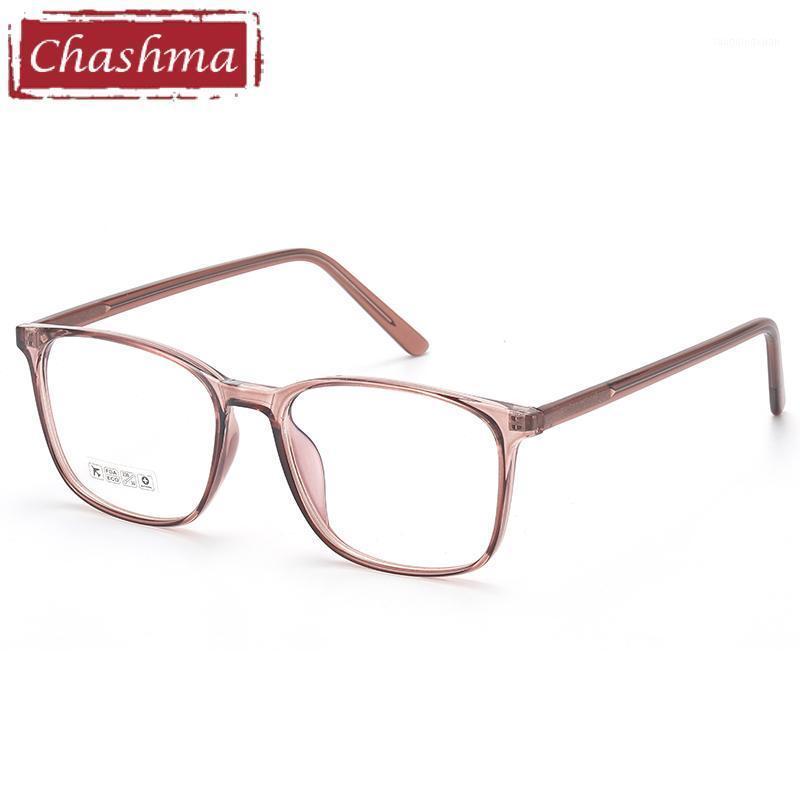 Chashma Transparent Frame Donne Occhiali da prescrizione Glasses Glass per uomo Glass ottico TR90 Spettacoli leggeri