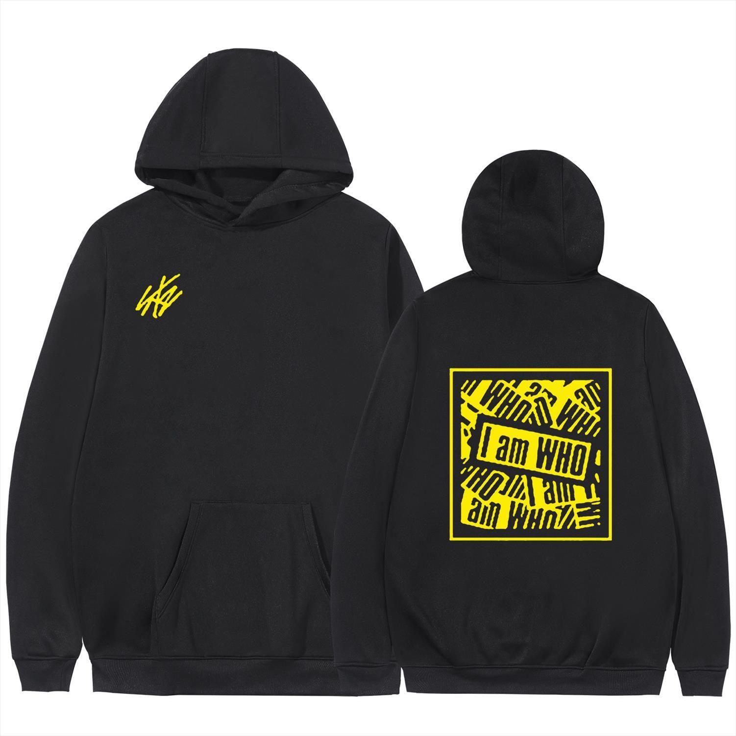 Bonito Straykids Kpop moletom Tops 2020 New Style Sweatshirt Mulheres Oversized 4XL Casual Harajuku Stray Crianças Hoodies com capuz