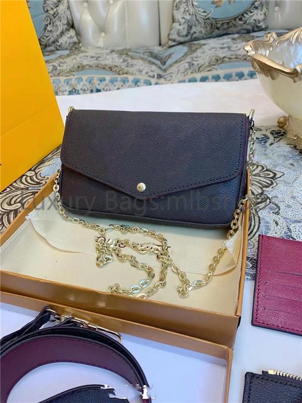 En Kaliteli Çanta Çanta El Moda Tasarımcıları Kadın Deri Luxurys Kadın Anne Çanta Zincirleri Paketi Ahşap Anne Bill WGRP