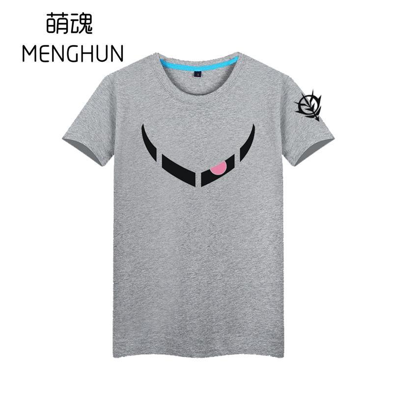 Char Aznable Custom Custom Z Gok T Рубашки Char T Футболки Мобильные костюмы Gundam Новый Дизайн T Рубашки Gundam Вентиляторы Рубашка AC1405