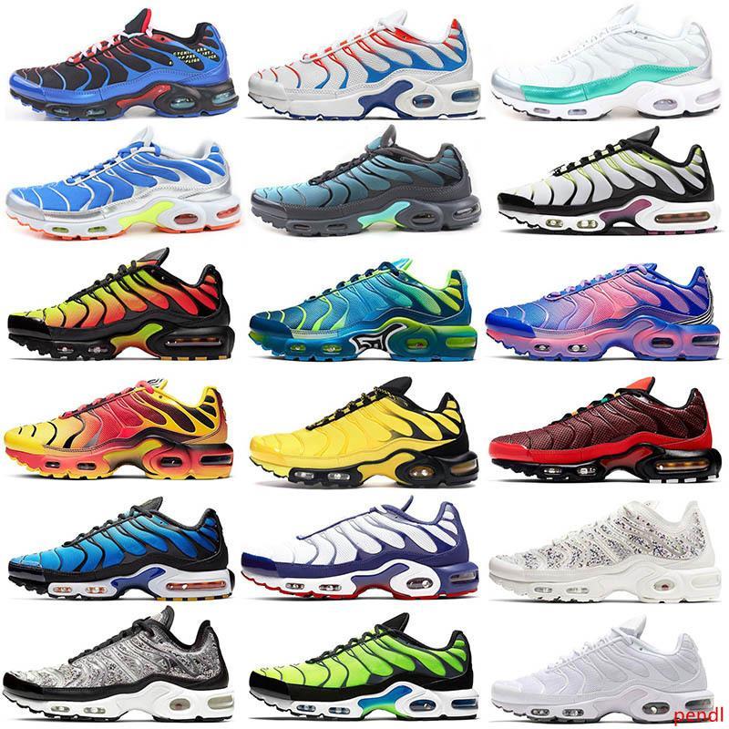 TN, más los hombres los zapatos Azul marino psíquico Roca los guijarros grito total white carmesí University Naranja zapatillas de deporte de color rojo verde ejecutan