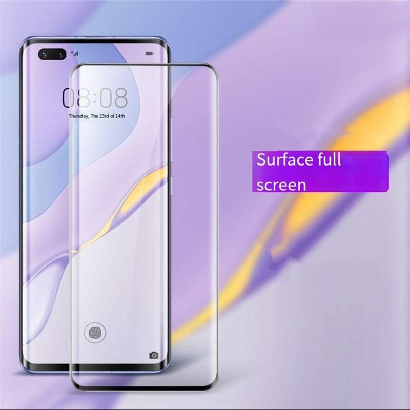 3D curvados filme de diamante quente curvo tela cheia HD apropriado para Huawei nova7pro P30Pro P40Pro vidro temperado filme