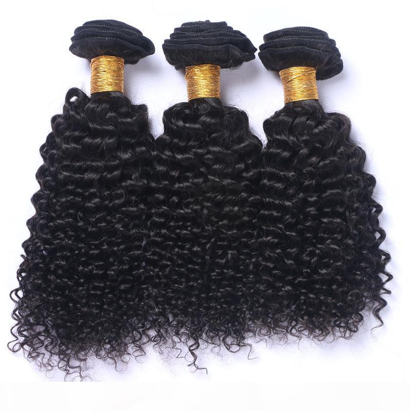 Virgin peruano profundo rizado cabello humano paquetes 3pcs lot de la mejor calidad, el cabello humano peruano teje extensiones de trama de cabello virgen rizado