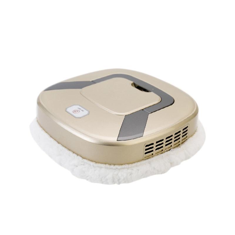 تجتاح روبوت المنزلية التلقائي آلة التطهير الذكي فراغ أجهزة تنظيف منظف، ذهبي