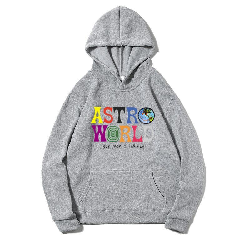 Nova Primavera / Outono Suéter Travis Scott Astroworld Crianças Meninos Meninas Roupas de Manga Longa Hip Hop Child Buzes Y200901