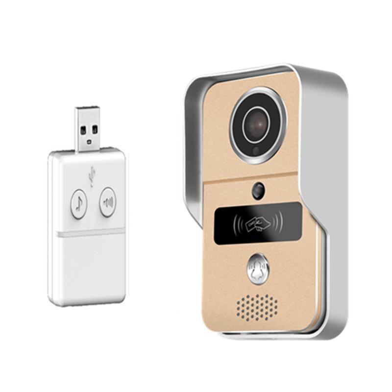 Yoosee APP Fernbedienung 1080P WIFI Türklingel mit Innen Glocke Video-Türsprech
