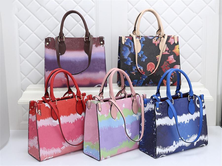 Drucken schulter klassische wolke dame handtasche heiß sl qualicolor tasche # 54 # 58966666 Bag Slung High xwwmu