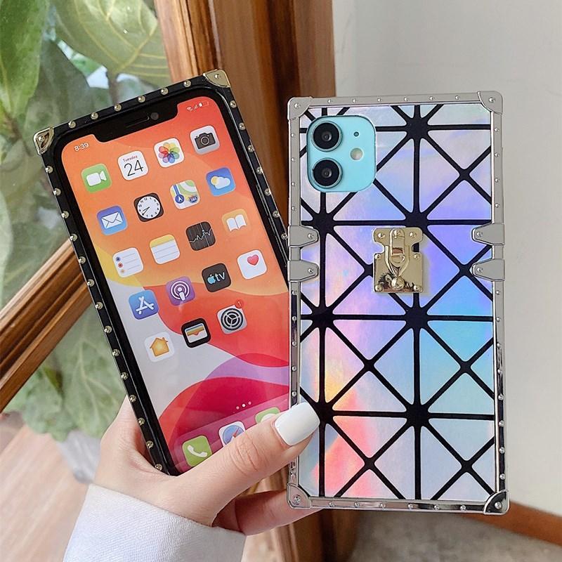 Funda de teléfono de alta calidad para iPhone 12 12PRO MAX 8PLUS X XR XSMAX CUERO DE TPU TPU para iPhone 11 Pro Max