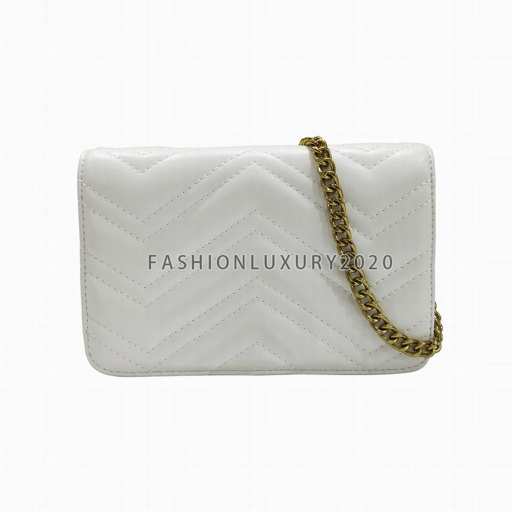Mode Khaki Clutch Bags Handtaschen Einkaufstasche Kleine Goldkette Schulter Crossbody Tasche Geldbörsen 5 Farben Abendtaschen SACs à Hauptlager