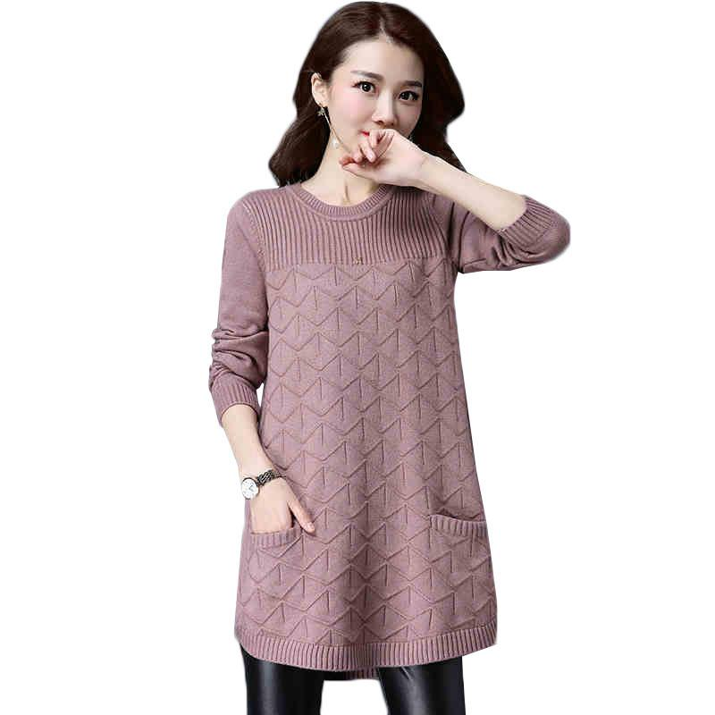 Mulheres soltas 2020 primavera outono camisa camisa pulôver suéteres inverno plus tamanho 4xl knit feminino tops outuwear j85