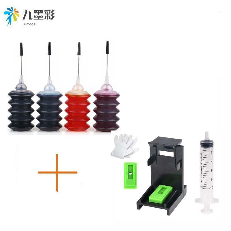 Mürekkep Dolum Kitleri 4 ADET Evrensel 30ml Boya K C M Y Kiti Canon Brother Lexmark Printer1 için