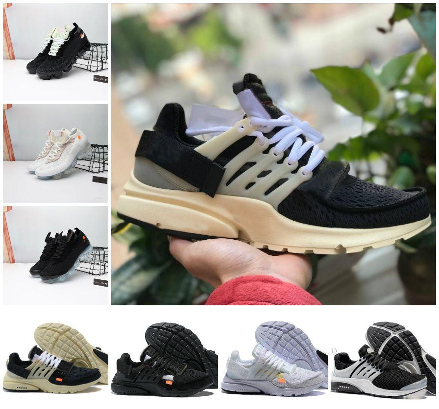 High Quality 2020 White Presto V2 Ultra BR TP QS Mens Running Shoes Cheap air Original Prestos Black Mid Womens Sports Designer Sneakers