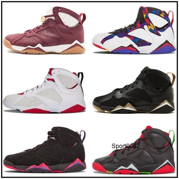 Vii Jumpman 7 Toptan Çocuk İyi Qaulitys Erkekler Satış ucuz spor ayakkabı Deri Erkek Yeni Basketbol Shoesih için 7'ler
