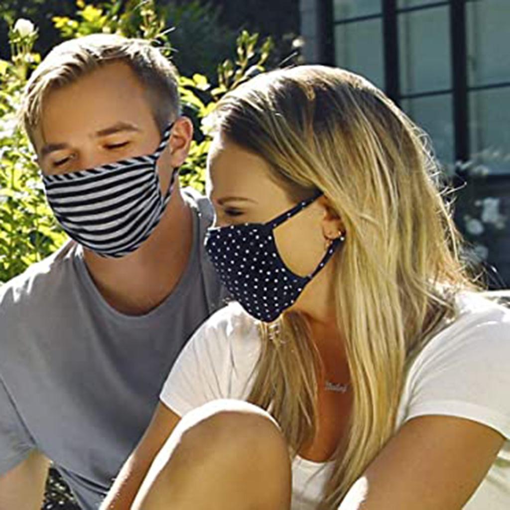 concepteur hommes femmes mode coton réutilisable visage adulte am américain drapeau boucle masque souple anti-poussière anti-poussière
