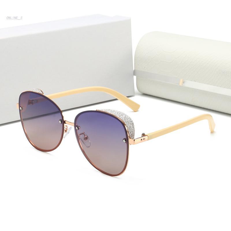 2021 популярных классических мужчин открытый солнцезащитные очки Отношение Золотой квадратный дизайн рамка UV400 Защита Очки старинный летний стиль с коробкой