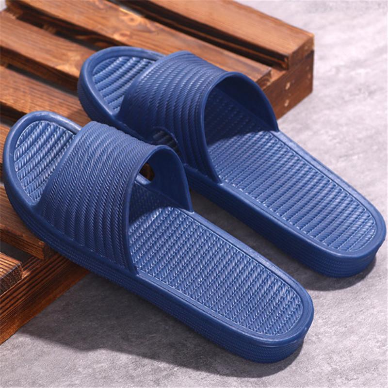 Novas chinelos feminino ins maré casa de verão coberta banheiro banho grossa com solado de vazamento sandálias casal homens mulheres chinelos 02