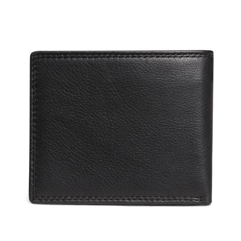 Herren Black Quality Geldbörsen Brieftasche Leder Echtkartenhalter 2020 Kuhmünzen Leder Brieftasche Bifold Top Luxus für Geldbeutel qtxqt