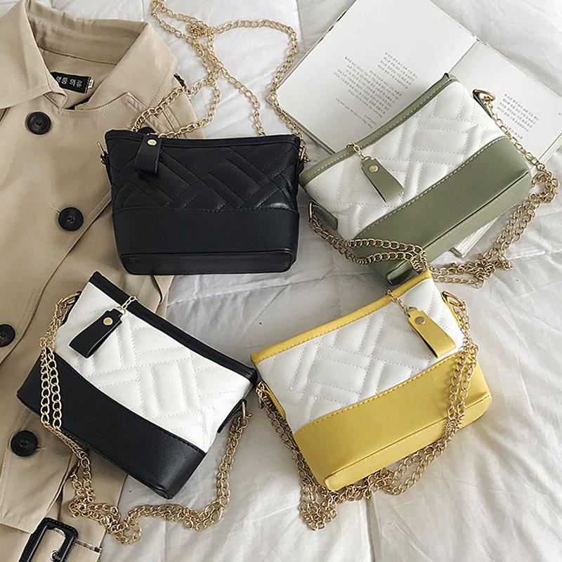HBP Crossbody Bag bucket bag Handbags Purses new Designers bags premium texture Fashion Popular shoulder bag Plaid chain
