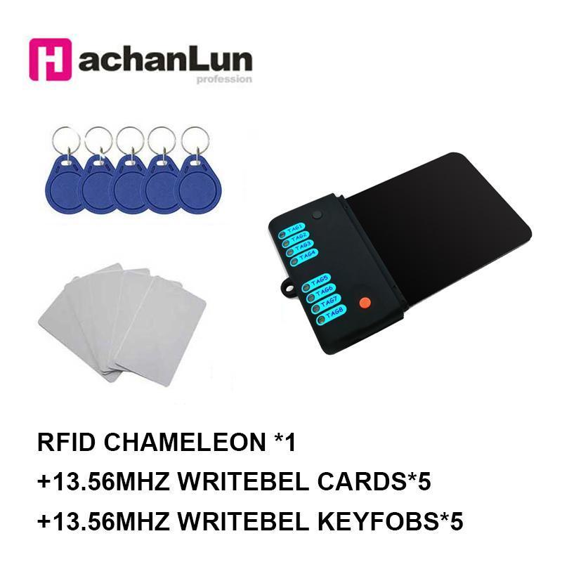 Lecteur de carte de contrôle d'accès EST CHAMELION MINI MINI RDV2.0 Kit ISO14443A / B UID 13.56MHz Emulateur d'émulateur Smart Chip Smart Chip NFC Proxmark