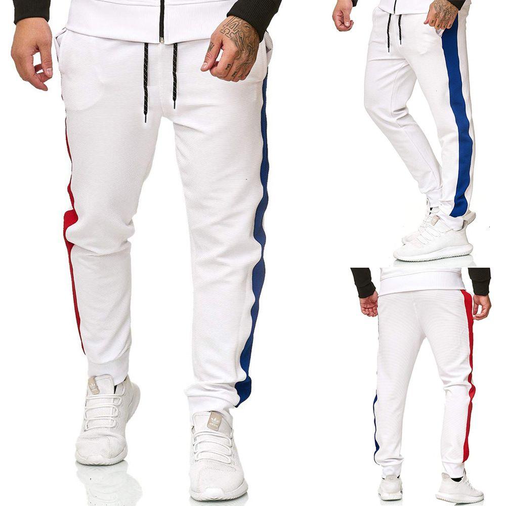 Autunno New Color Matching maschile per il tempo libero Sport per il tempo libero Wei Youth Pants K371