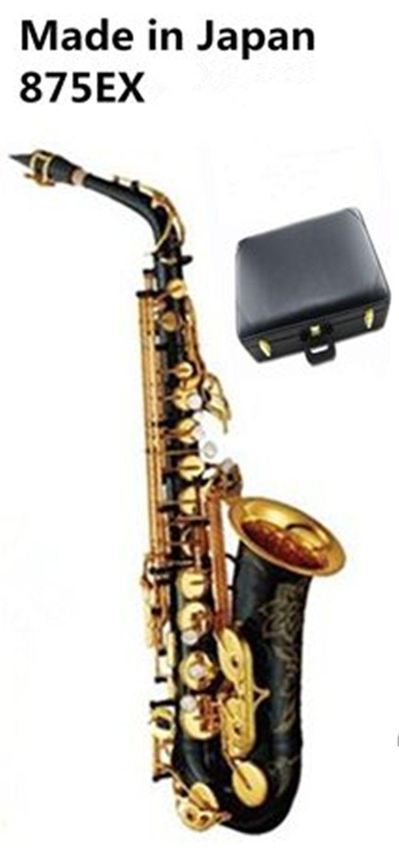 La migliore qualità Black Gold Alto sax YAS-875EX Giappone Marca Alto sassofono E-Flat strumento musicale di livello professionale di trasporto