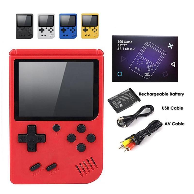 Video Game Console 3 Polegada Tela 8 Bit Mini Pocket Handheld Gaming Player 400 Game Free DHL Shipping