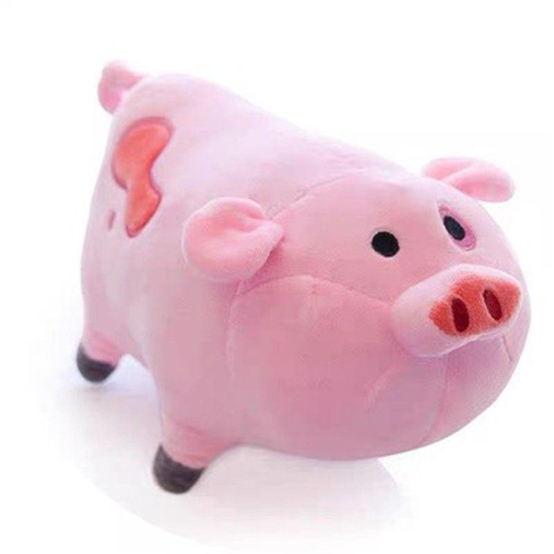 20см силы тяжести Падение Плюшевые игрушки ковыляет Pig Мейбл Pet Розовый поросенок чучела животных Куклы для детей Подарочные 20190807