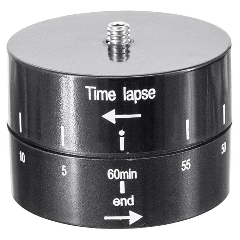Rotação de 360 graus Automático Automático GO Pro Acessórios 60min Delay Total Tilt Head Head Timer Temporizador para 7/6/5/4 SJ4000 YI4K