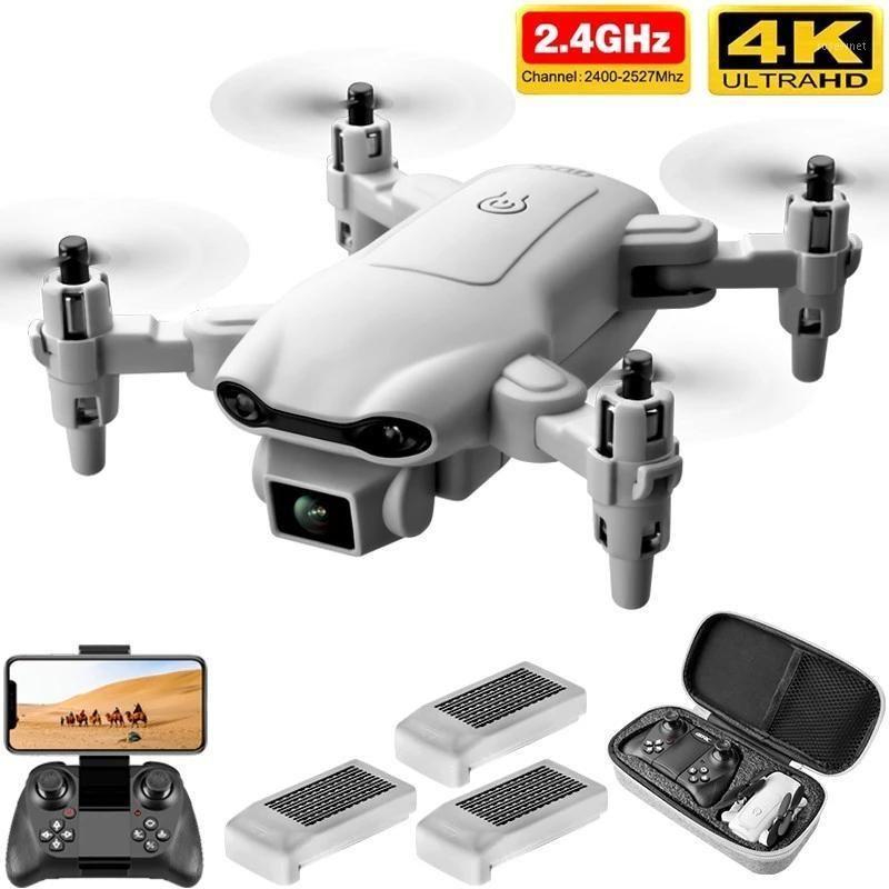 V9 Nuevo RC Mini Drone 4K 1080P Cámara HD WiFi FPV Presión de aire Altitude Hold Gris Professional Foldable Quadcopter RC DRON TOY1