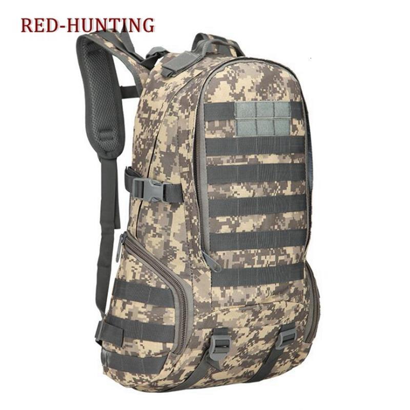 35L tattico Daypack Zaino ingranaggi MOLLE Studente di scuola secondaria pacchetto di assalto zaino per il campeggio di caccia Trekking Travel