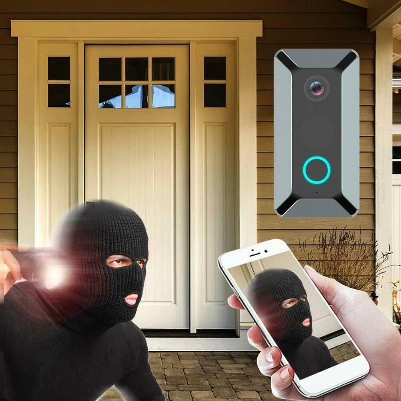 Smart Wireless Doorbell Video Camera Home Security Doorphone V5 WiFi Remote Video Door Bell Phone Intercom Bell