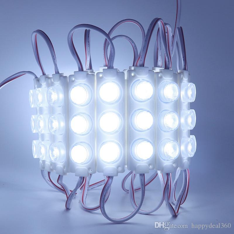 LED-Modul 3030 SMD LED Cool White 3W LED-Module mit Objektiv für Lichtkiste DC12V Wasserdicht IP65