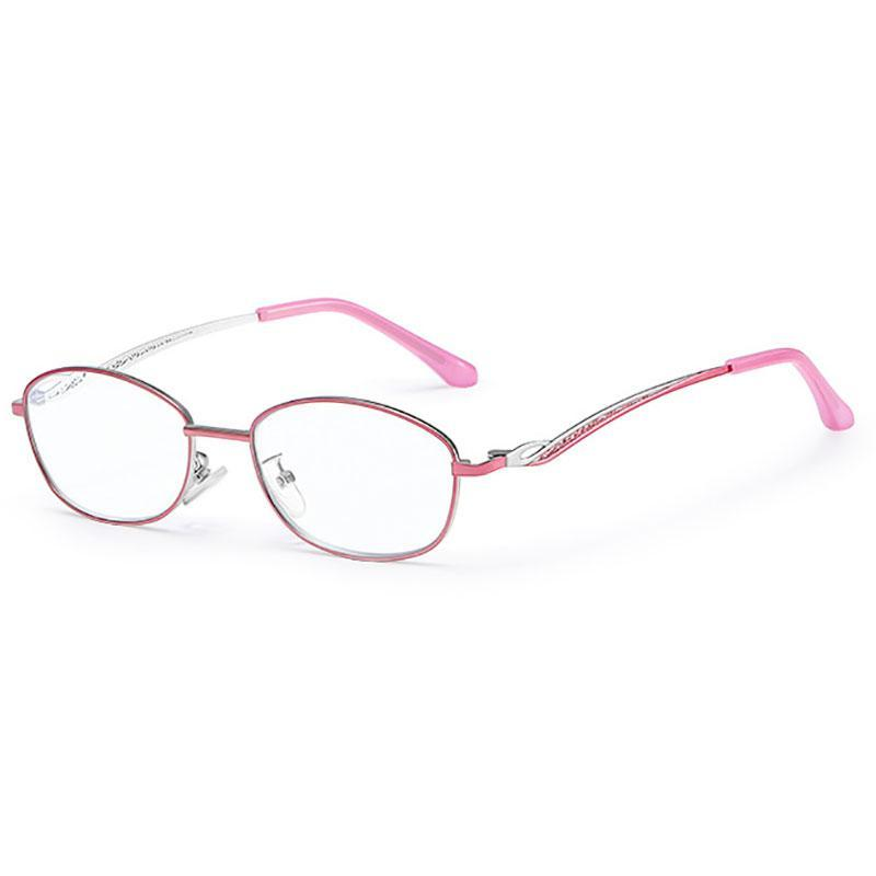 Güneş Gözlüğü Okuma Gözlükleri Kadın Tam Jant Alaşım Çerçeve Gözlükler Ultra Hafif Anti-Mavi Lensler